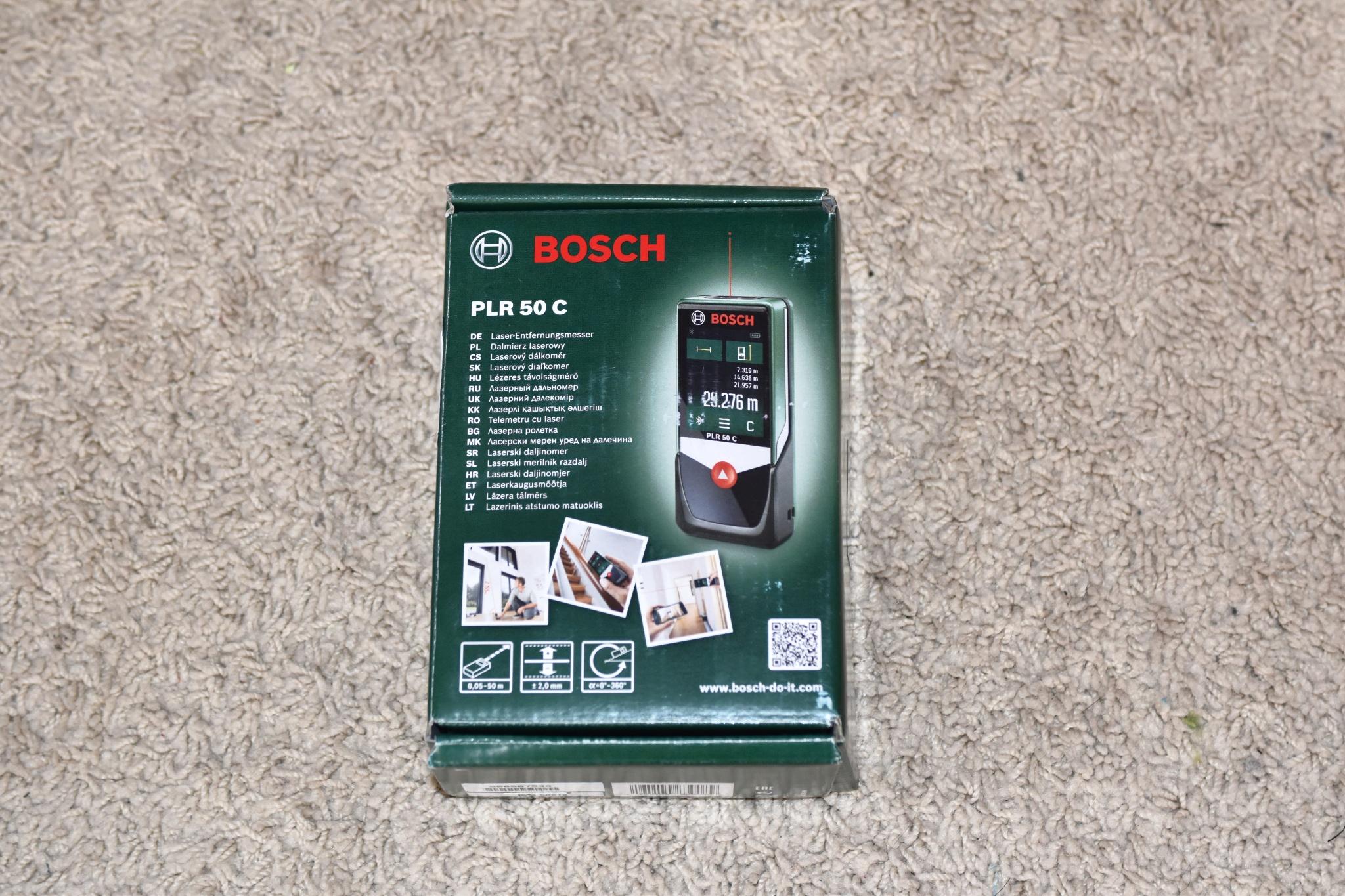 Bosch Laser Entfernungsmesser Plr 50 C : Entfernungsmesser plr c widerstandsfähiger koffer mit