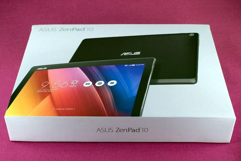 Обзор на Планшет ASUS ZenPad 10 Z300CG 16Gb Black - изображение 1