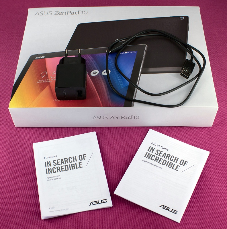 Обзор на Планшет ASUS ZenPad 10 Z300CG 16Gb Black - изображение 3
