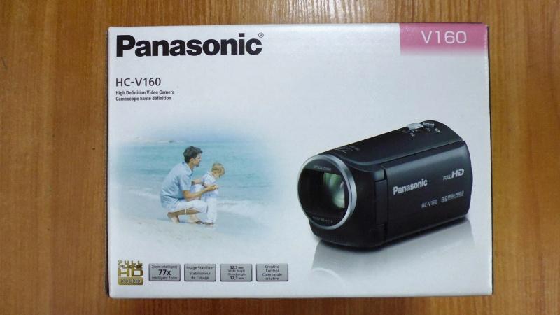 Обзор на Видеокамера Panasonic HC-V160 черный - изображение 1