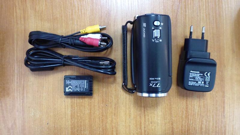 Обзор на Видеокамера Panasonic HC-V160 черный - изображение 2