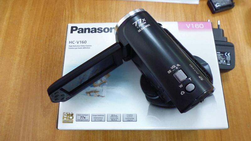 Обзор на Видеокамера Panasonic HC-V160 черный - изображение 3