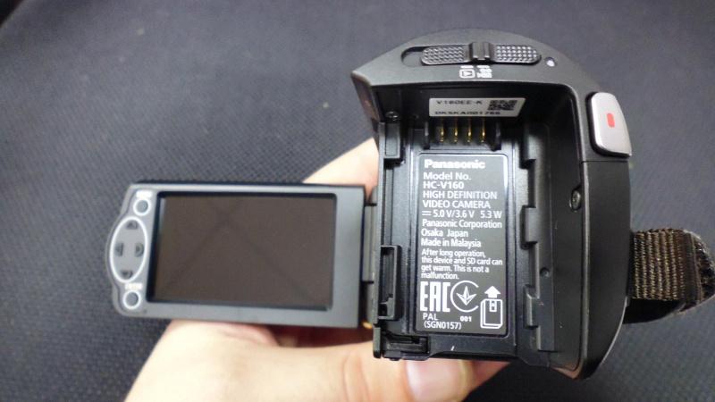Обзор на Видеокамера Panasonic HC-V160 черный - изображение 5