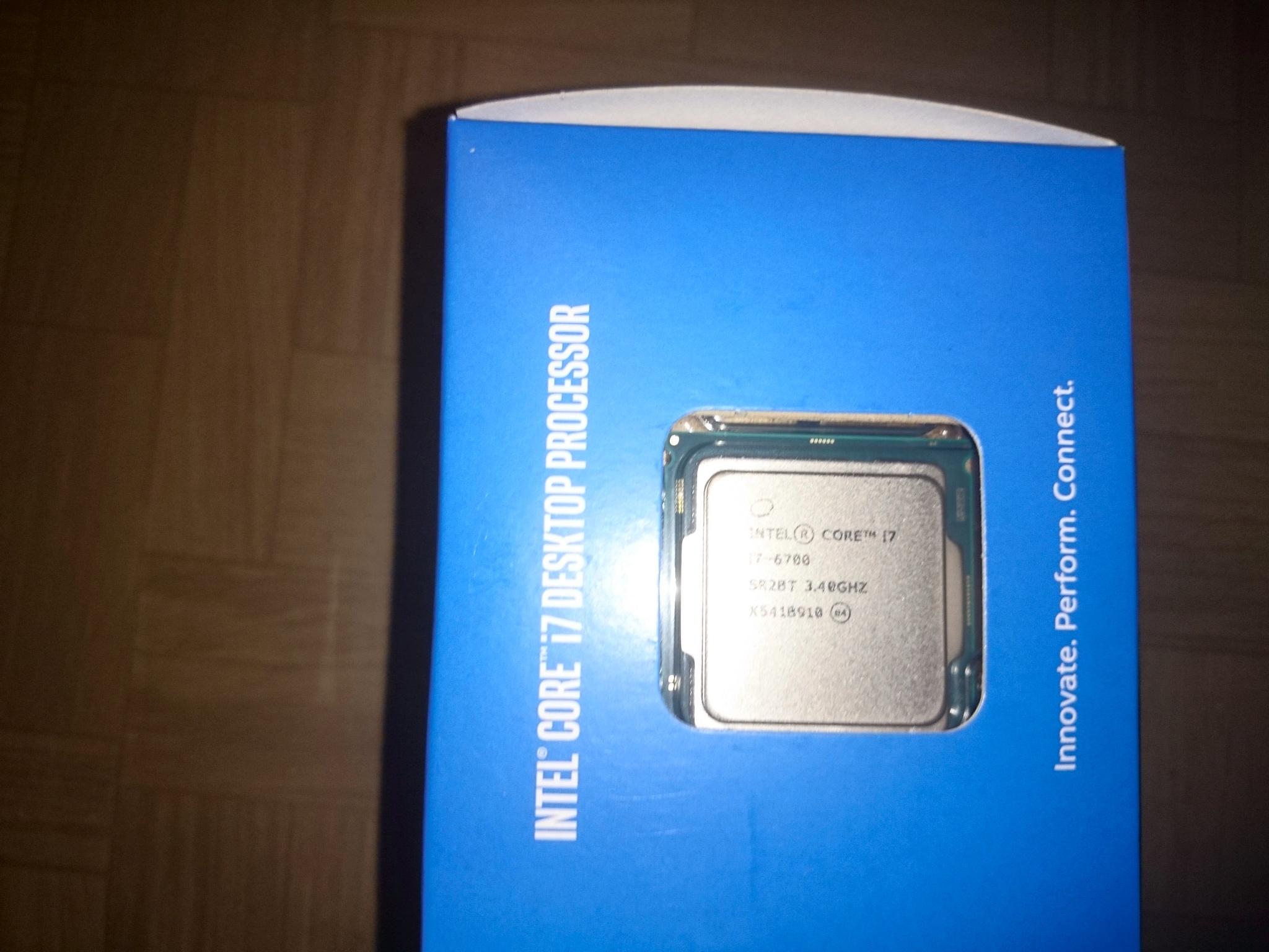 Обзор от покупателя на Процессор INTEL Core i7-6700 ...