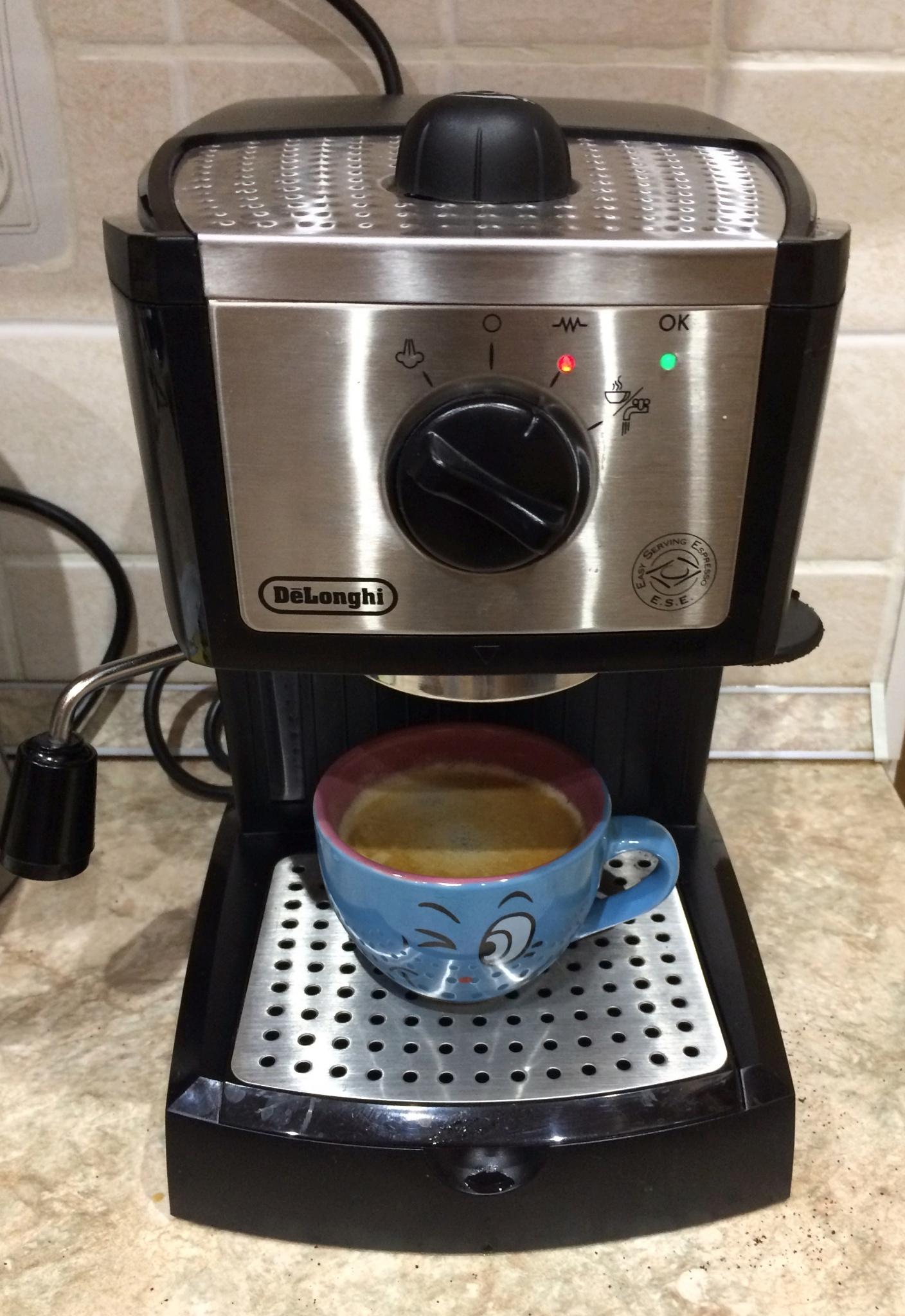 кофеварка делонги ес 250 инструкция