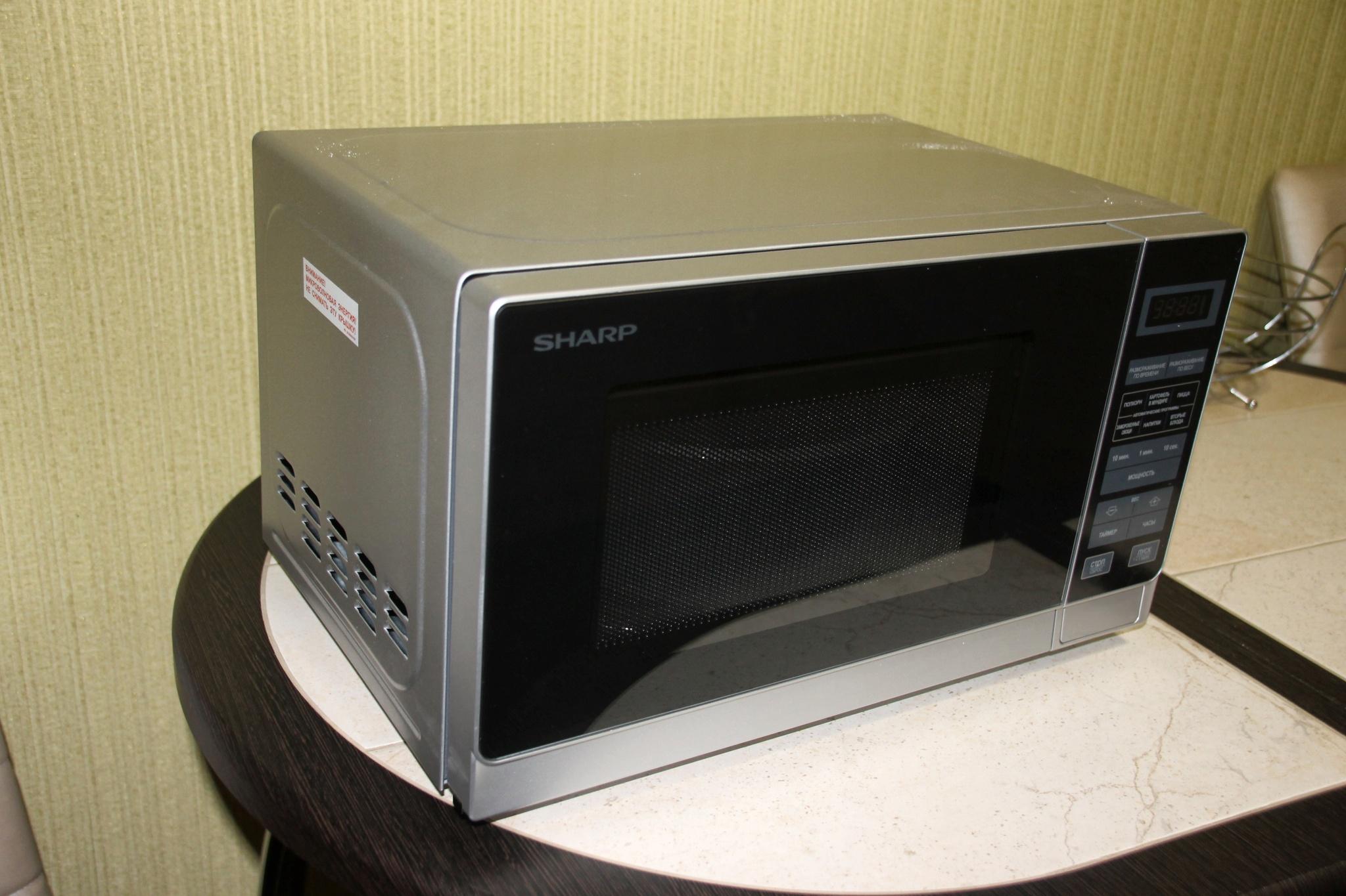 Микроволновая печь sharp r 239 инструкция