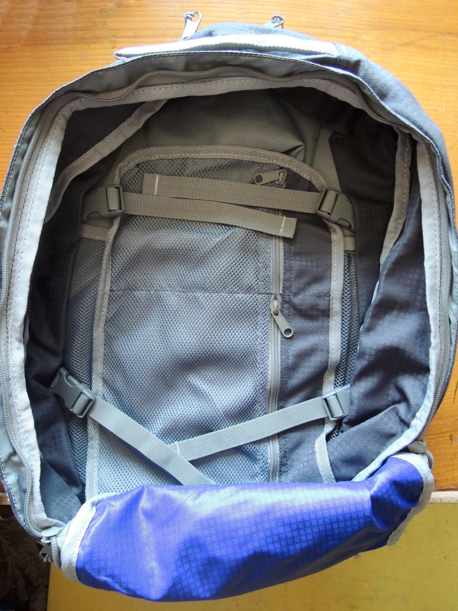 Nova tour рюкзак трэвел 35 v2 прорезиненный рюкзак