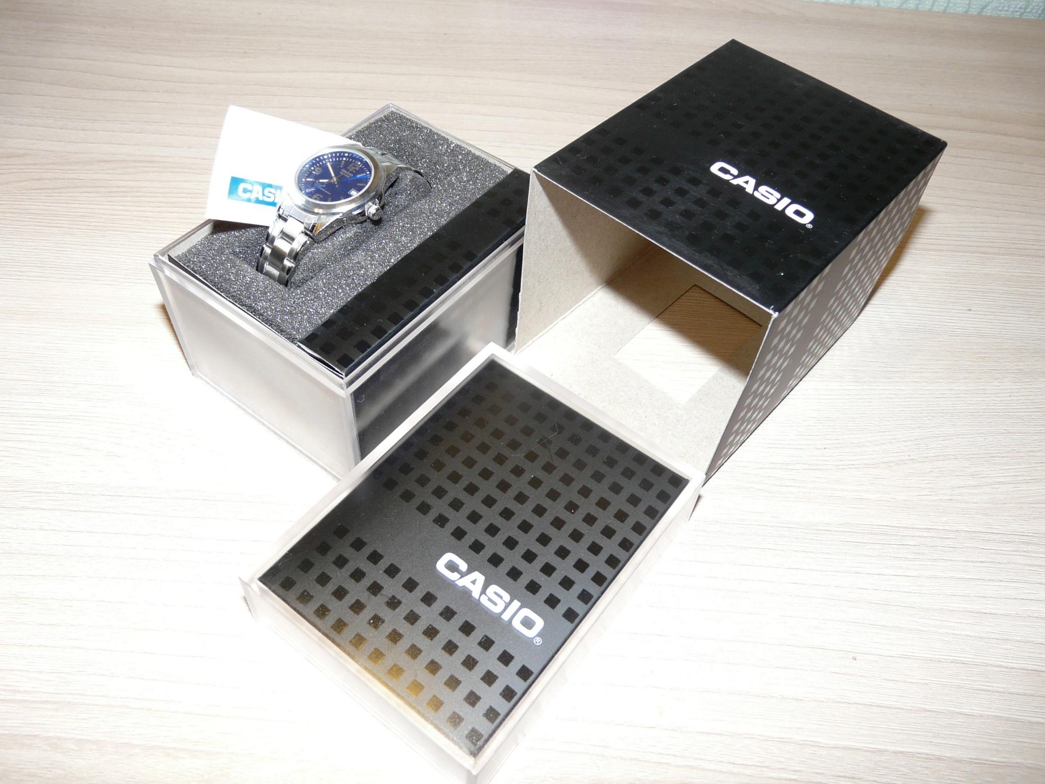 Женские часы Casio LTP-1259PD-2A Мужские часы Orient ER2L002B