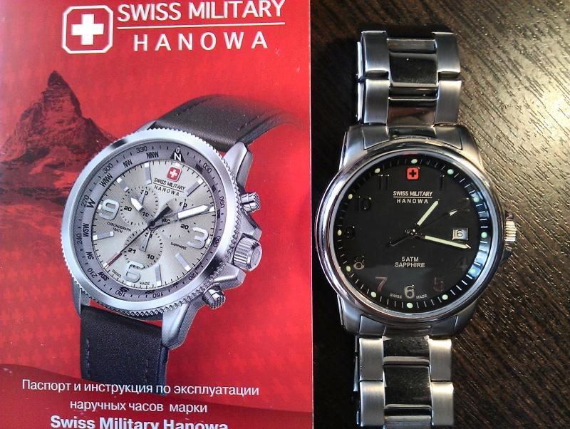 Часы swiss military hanowa инструкция
