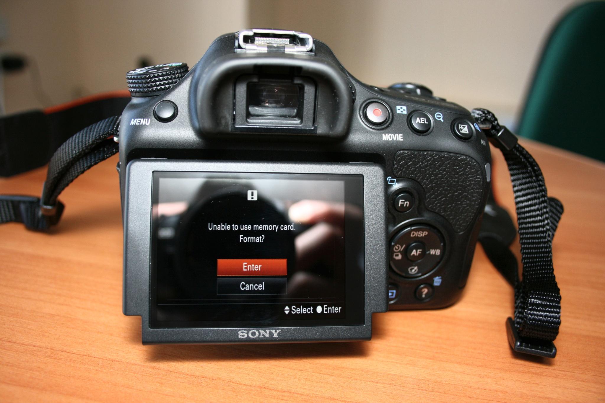 Sony a58 как сделать фото