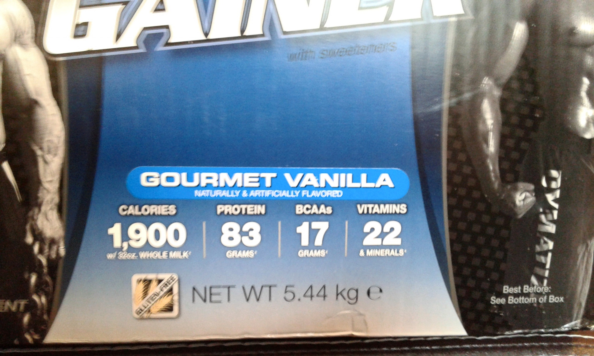 Dymatize Nutrition Super Mass Gainer Supermass 12lbsb 12 Lb Vanilla 2