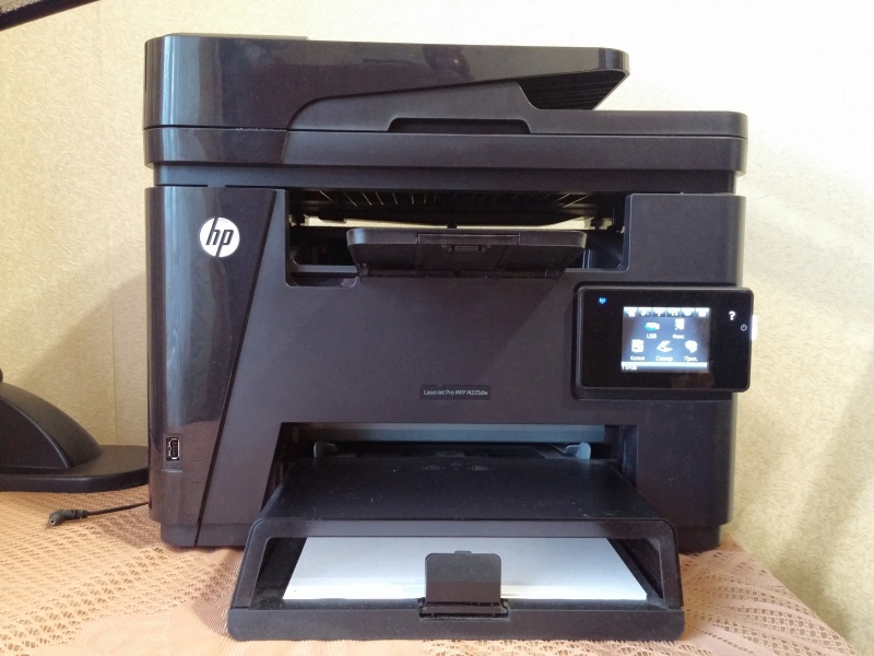 HP LaserJet Pro MFP M225dw Ремонт подачи документов