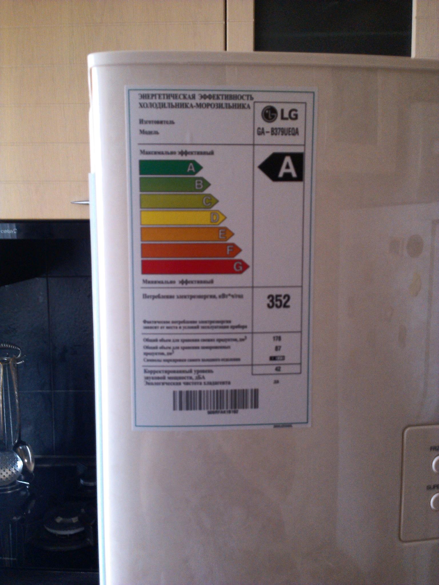 обзор от покупателя на холодильник Lg Ga B379ueqa интернет магазин