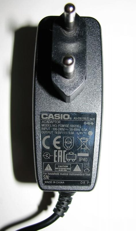 Обзор от покупателя на <b>Адаптер Casio AD</b>-<b>E95100LG</b> к SA-76/77 ...