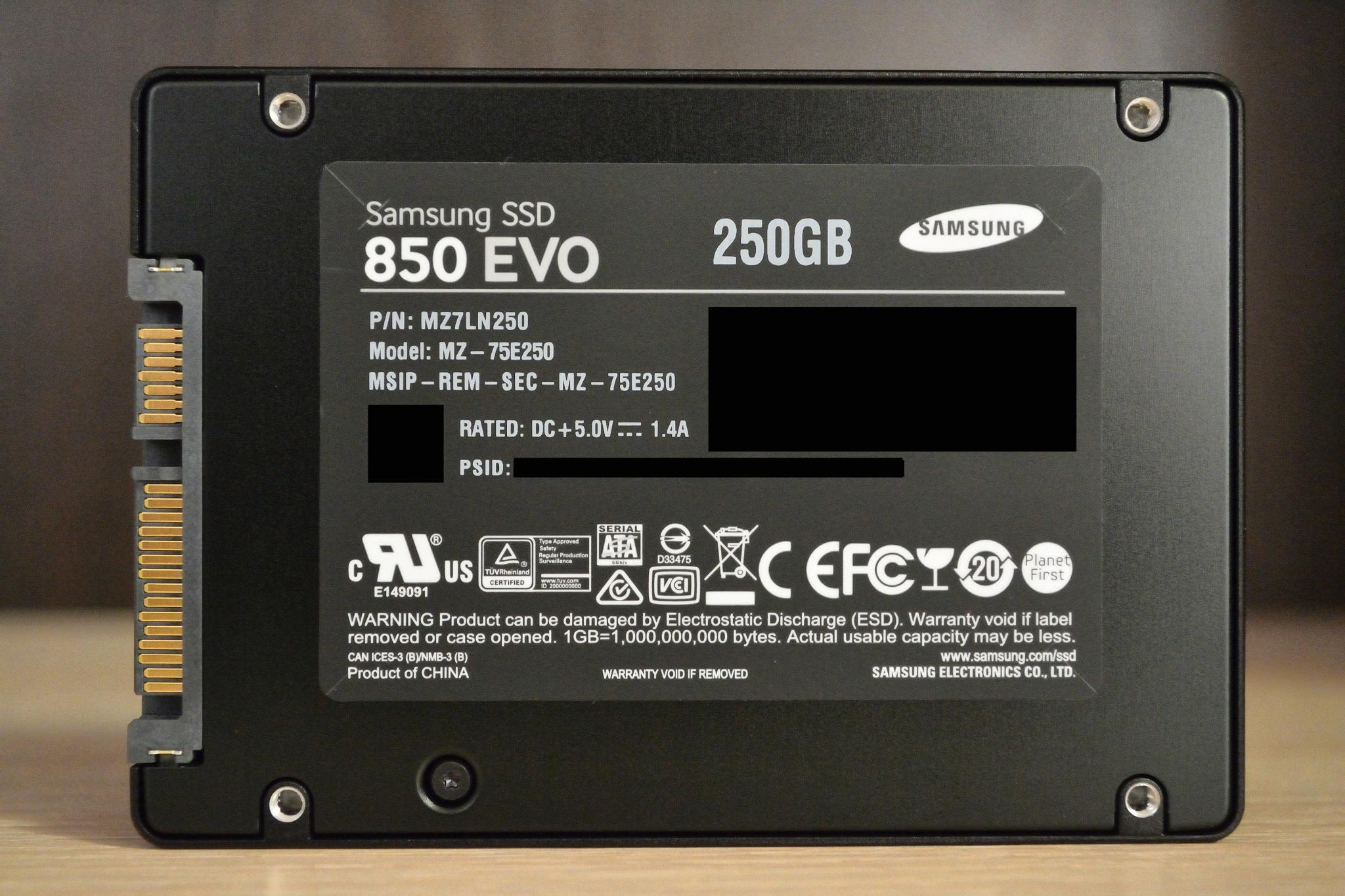 Обзор на SSD диск Samsung 850 EVO 2.5