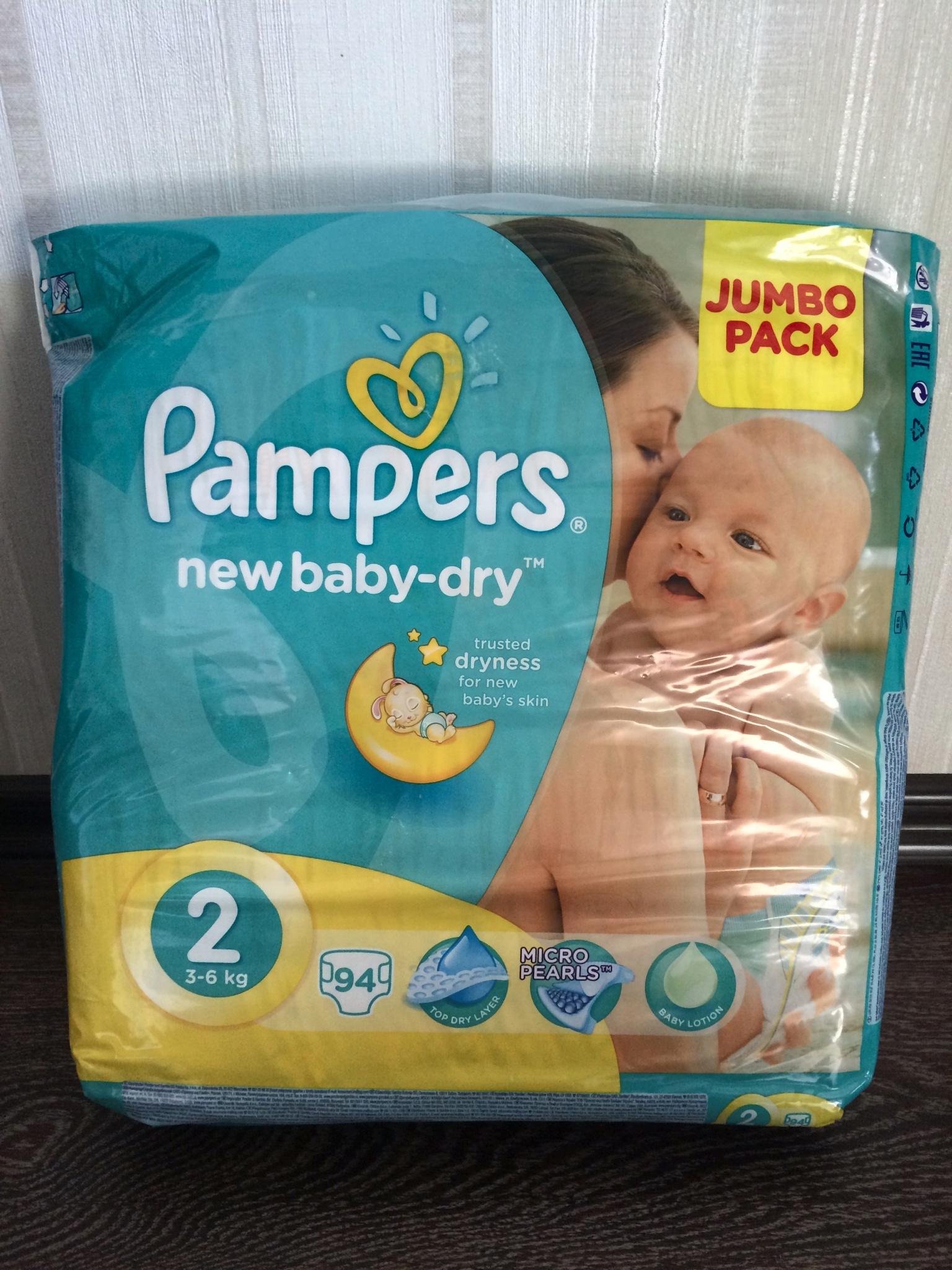 Обзор от покупателя на Подгузники Pampers New Baby-Dry 2 Mini (4-8 ... 2e1e07e0c0d