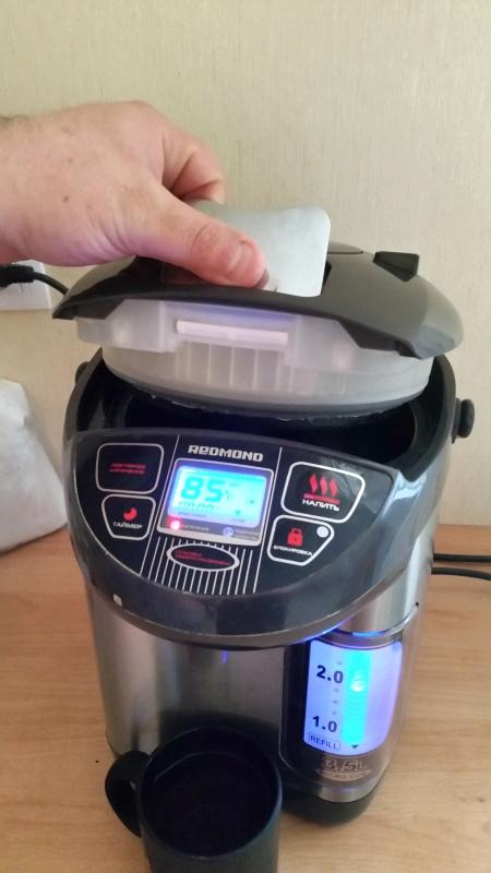 Обзор на Термопот Redmond RTP-M801, серый - горячий чай в доме для Вас и неожиданных гостей круглосуточно! - изображение 9