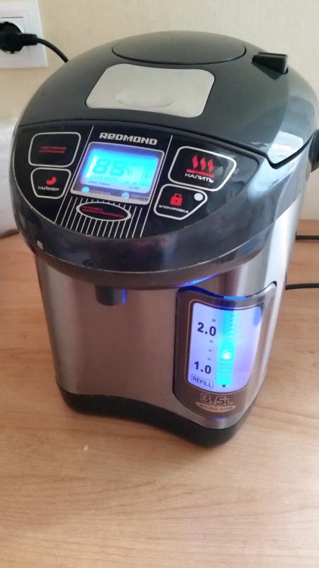 Обзор на Термопот Redmond RTP-M801, серый - горячий чай в доме для Вас и неожиданных гостей круглосуточно! - изображение 5