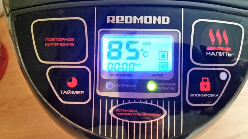 Обзор на Термопот Redmond RTP-M801, серый - горячий чай в доме для Вас и неожиданных гостей круглосуточно! - изображение 6