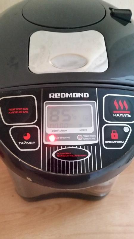 Обзор на Термопот Redmond RTP-M801, серый - горячий чай в доме для Вас и неожиданных гостей круглосуточно! - изображение 7