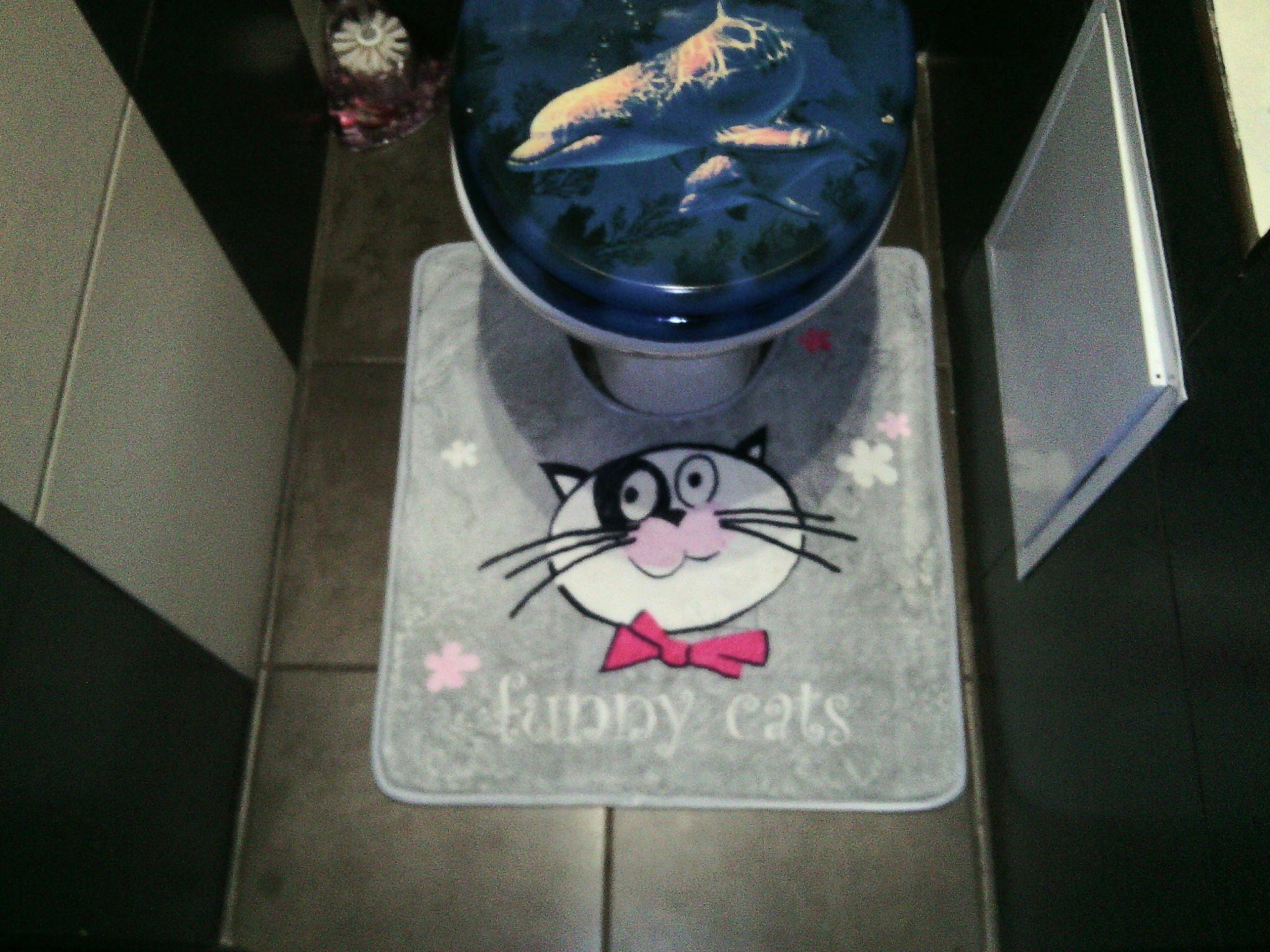 Коврик для туалета Tatkraft