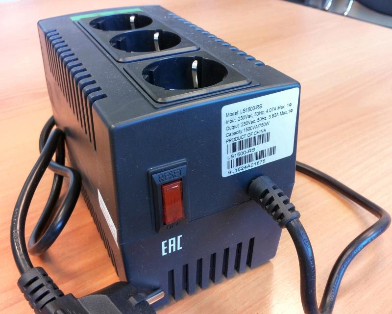 Стабилизатор напряжения APC Line-R LS1500-RS - изображение 13