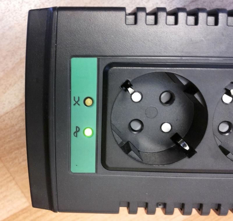 Стабилизатор напряжения APC Line-R LS1500-RS - изображение 17