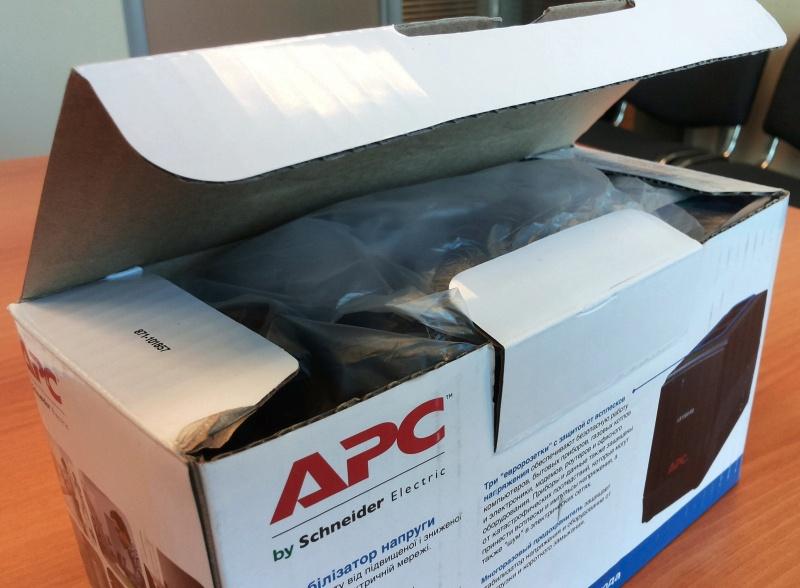 Стабилизатор напряжения APC Line-R LS1500-RS - изображение 6