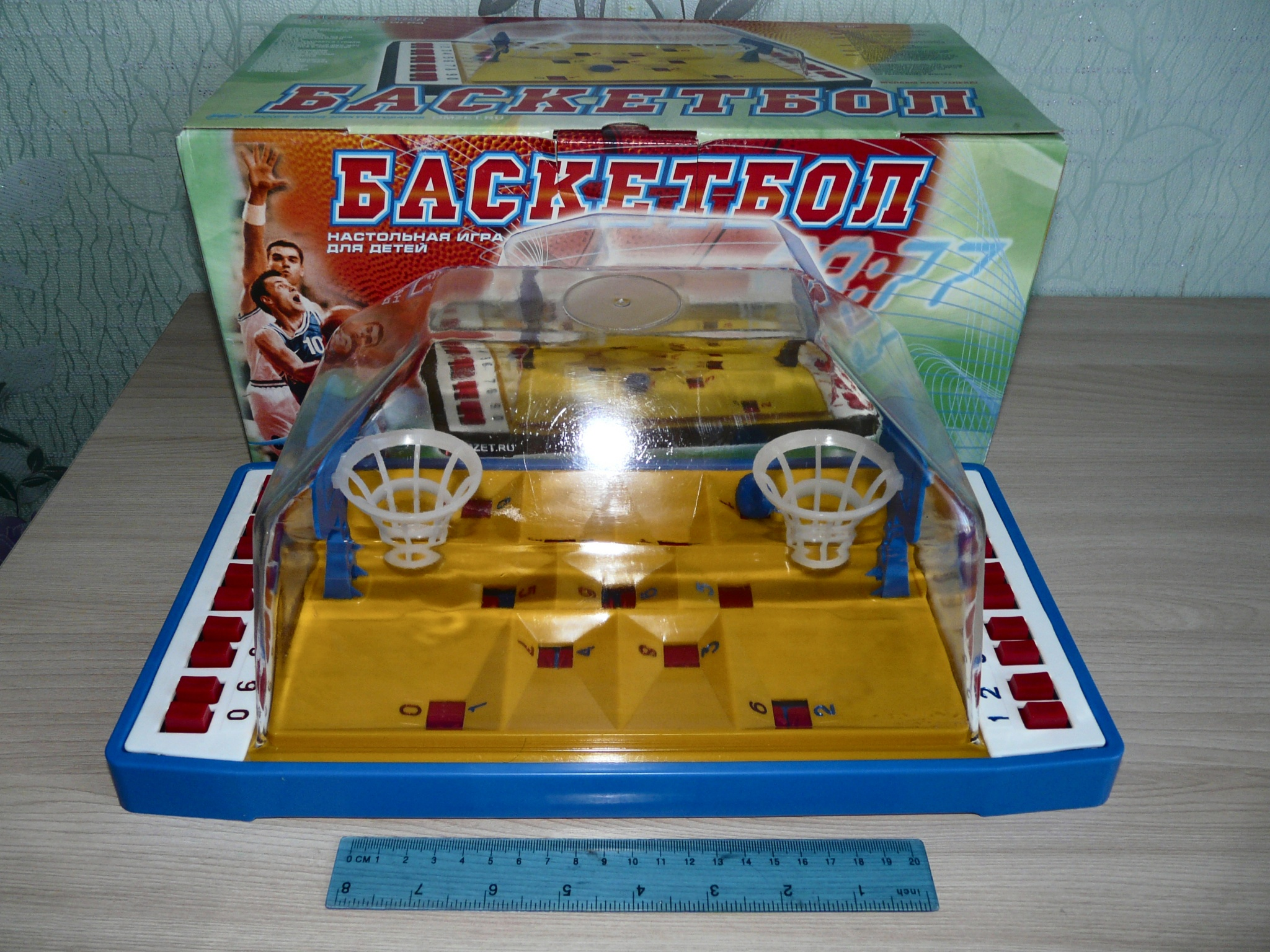 48892ab7 Обзор на Игра настольная ОМ-48202 Баскетбол. Омский Завод Электротоваров,  36х19, 5х17см