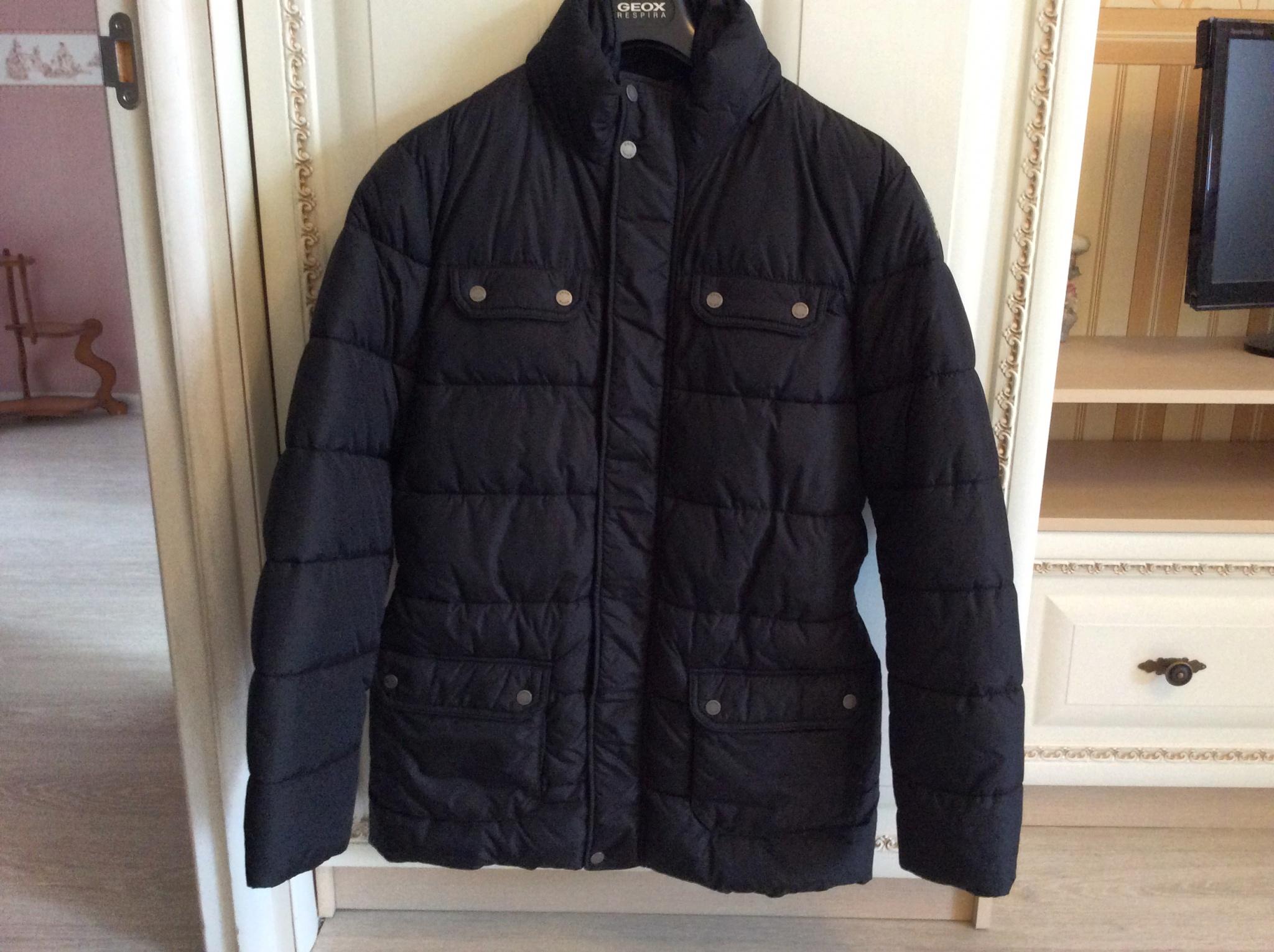 d4ab29f0ccf43 Обзор на Куртка GEOX MAN JACKET M5428A мужская, цвет черный, рус. размер 50