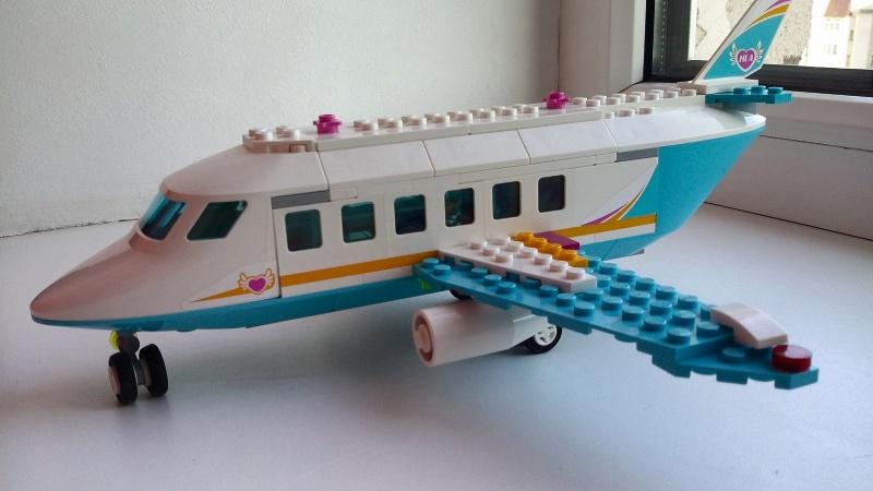 Обзор на Конструктор LEGO Friends 41100 Лего Частный самолет - изображение 9