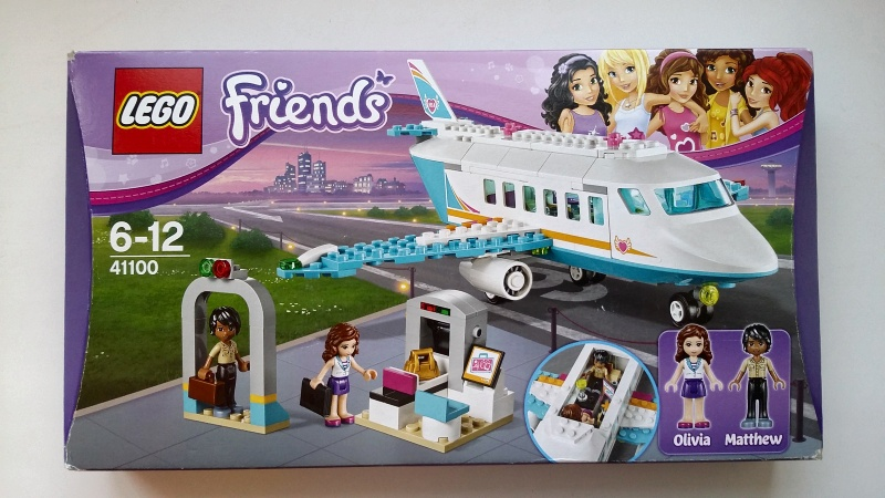 Обзор на Конструктор LEGO Friends 41100 Лего Частный самолет - изображение 1
