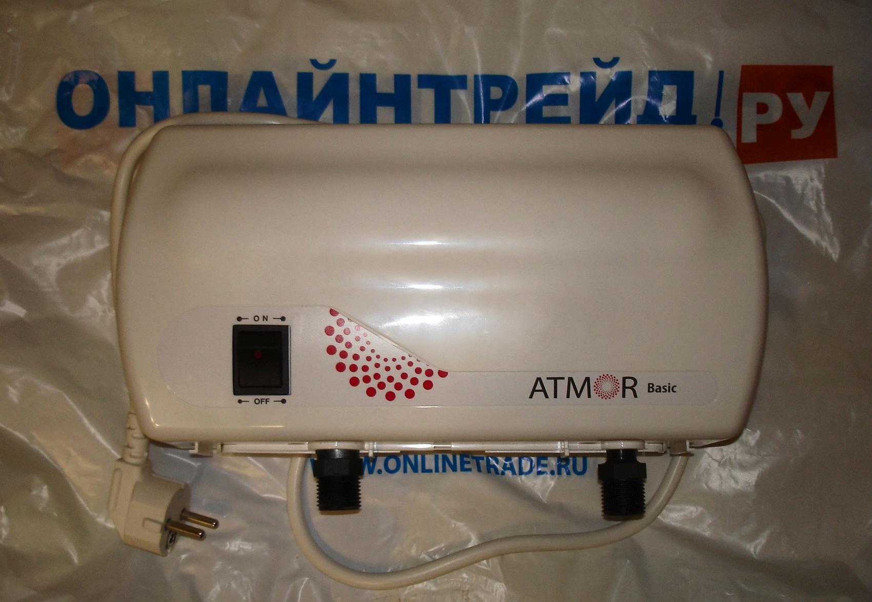 схема проточного электроводонагревателя atmor