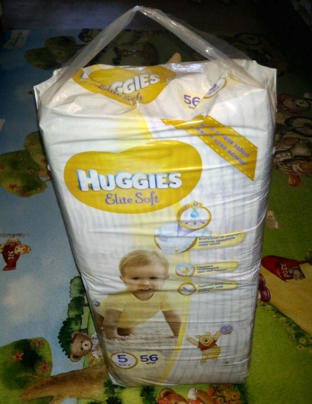 Обзор на Подгузники Huggies Elite Soft (Хаггис Элит Софт) 5 (12-22 кг), 56 шт. - изображение 11