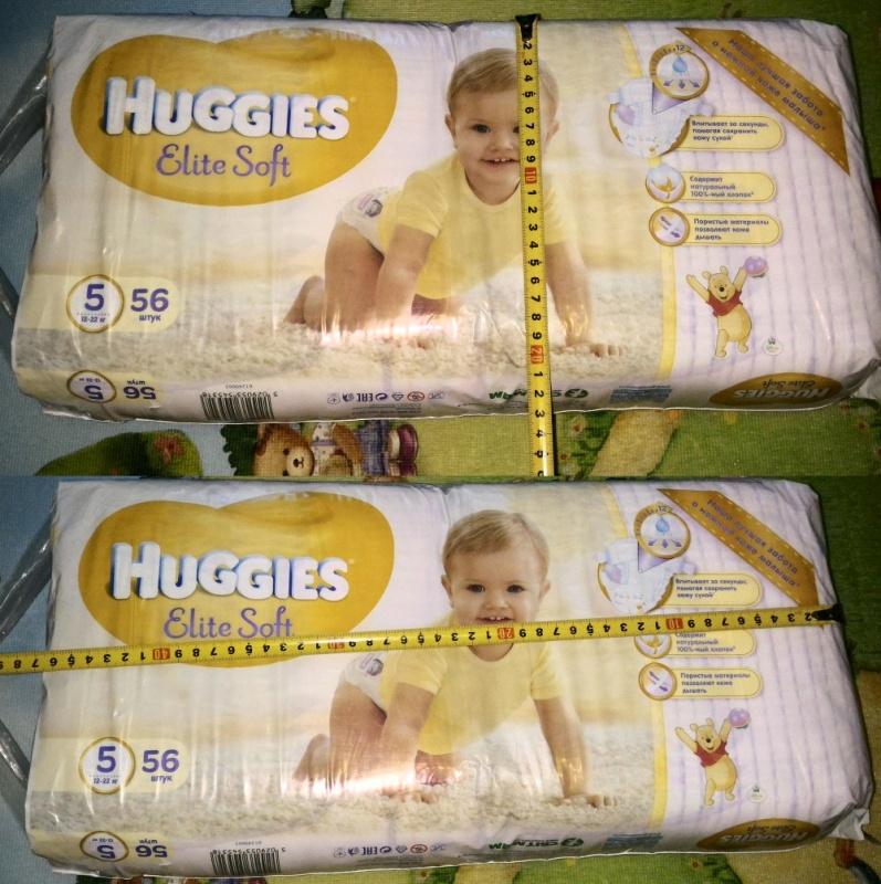 Обзор на Подгузники Huggies Elite Soft (Хаггис Элит Софт) 5 (12-22 кг), 56 шт. - изображение 12