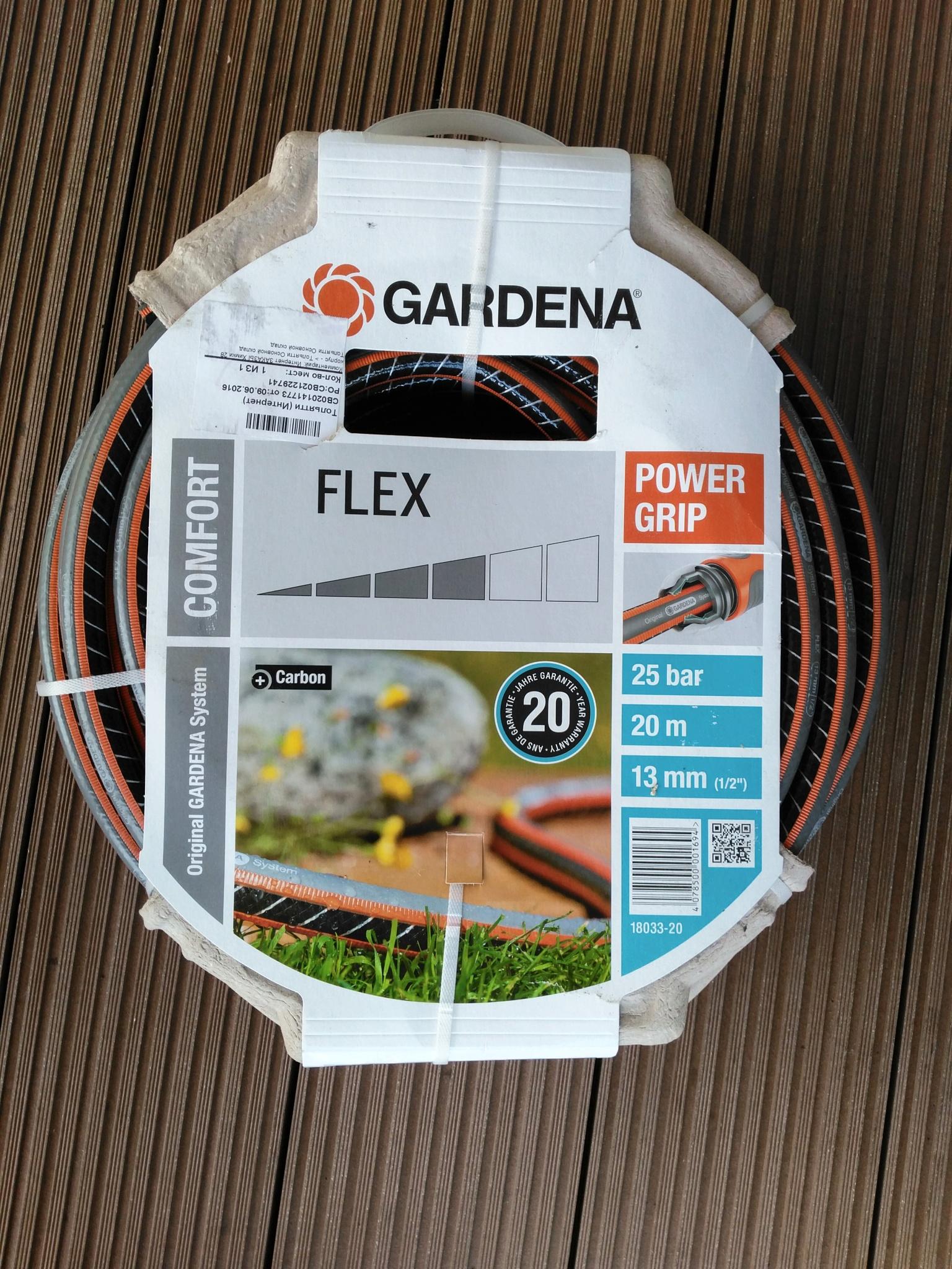 Шланг Gardena Flex 9x9 3/4