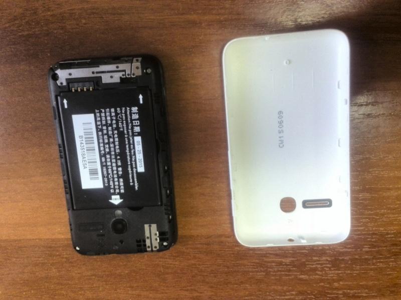 Обзор на Смартфон Alcatel PIXI 3(3.5) 4009D White Black - изображение 8