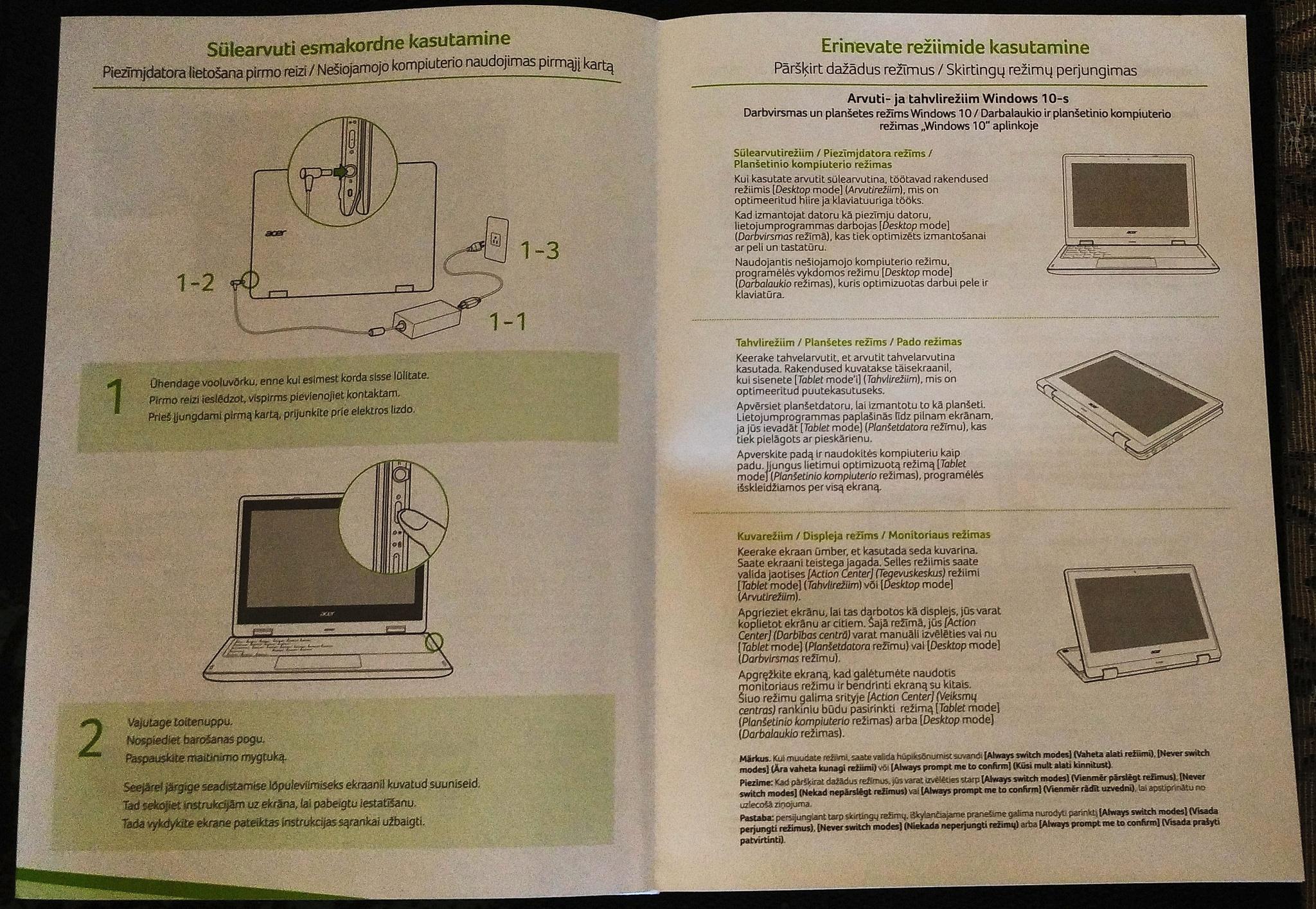 3d64a0b8560 Обзор от покупателя на Ноутбук Acer Aspire R3-131T-P626 (NX.G0YER ...