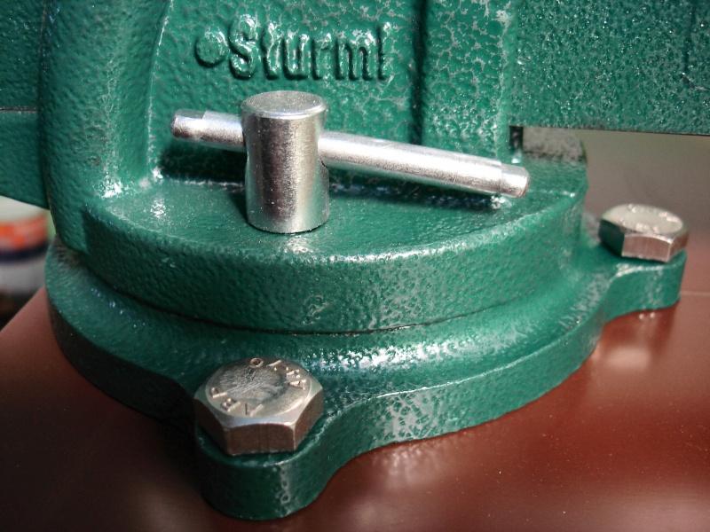Тиски Sturm! 1075-01-125 - изображение 18