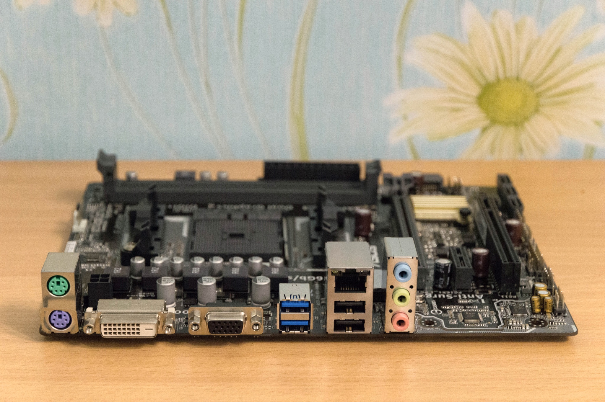 Asus A68hm K Fm2 Motherboard Socket Microatx 6