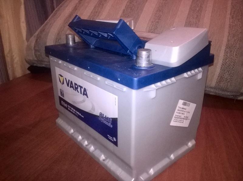 Обзор на Автомобильный аккумулятор VARTA D24 Blue Dynamic 560 408 054, 60 Ач - изображение 1
