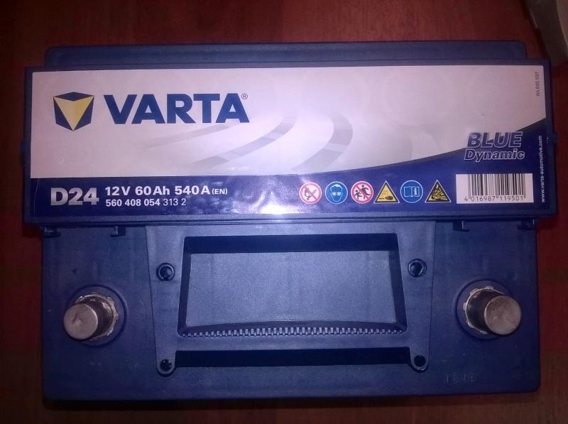 Обзор на Автомобильный аккумулятор VARTA D24 Blue Dynamic 560 408 054, 60 Ач - изображение 3