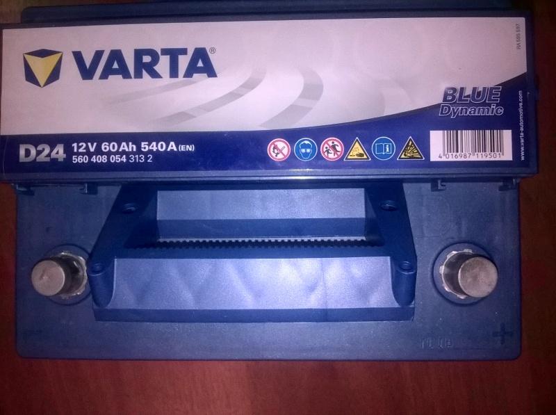 Обзор на Автомобильный аккумулятор VARTA D24 Blue Dynamic 560 408 054, 60 Ач - изображение 4