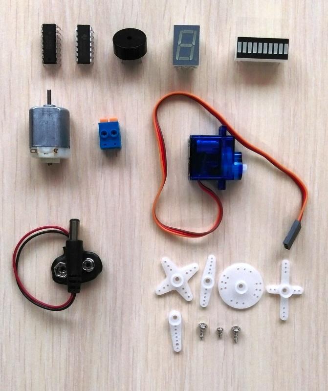 Обзор на Hi-Tech конструктор Матрёшка Z на основе платформы Arduino - изображение 17
