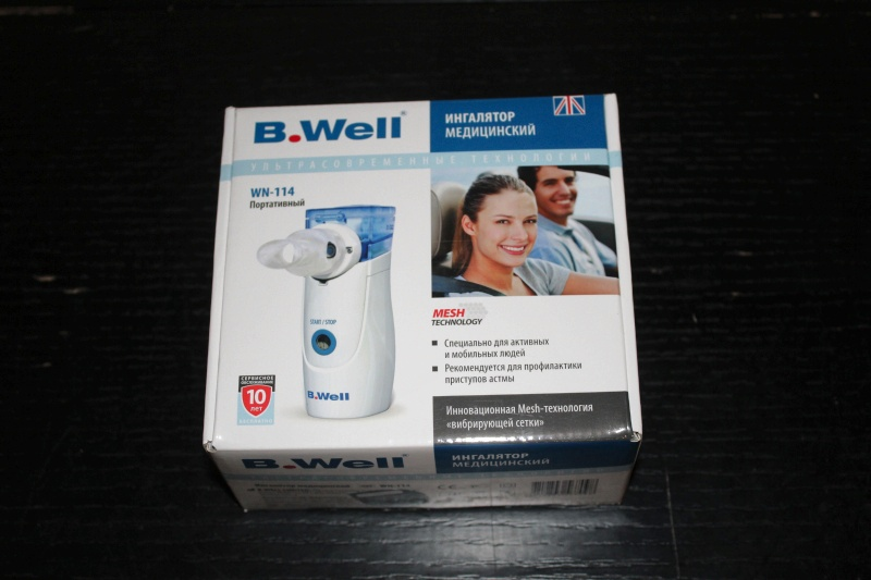Ингалятор B Well Wn 114 Инструкция