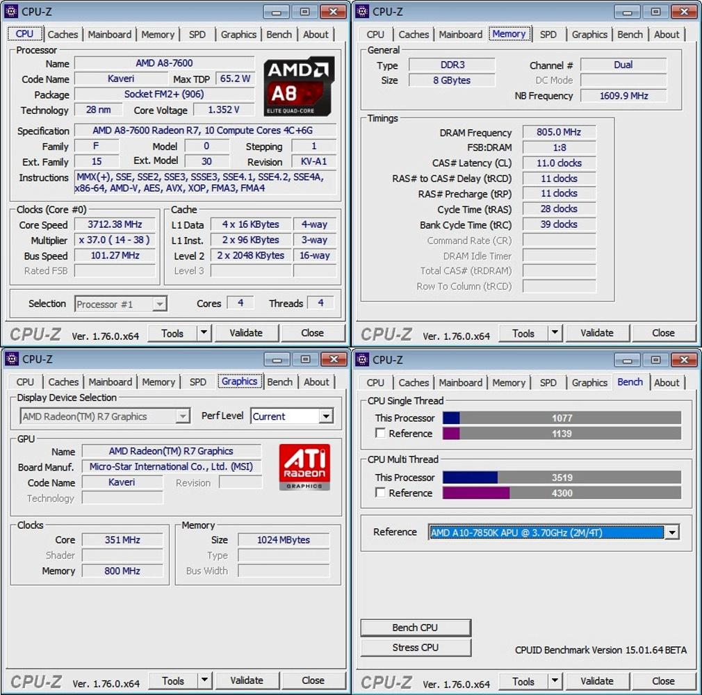 Частота процессора (мгц)