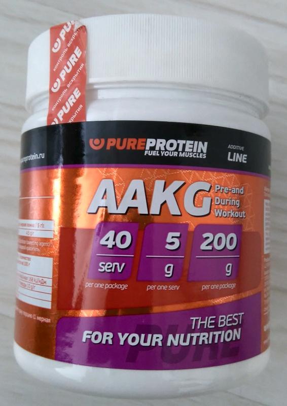 Обзор на Аминокислоты PureProtein Аргинин, вкус - Лимон 200г