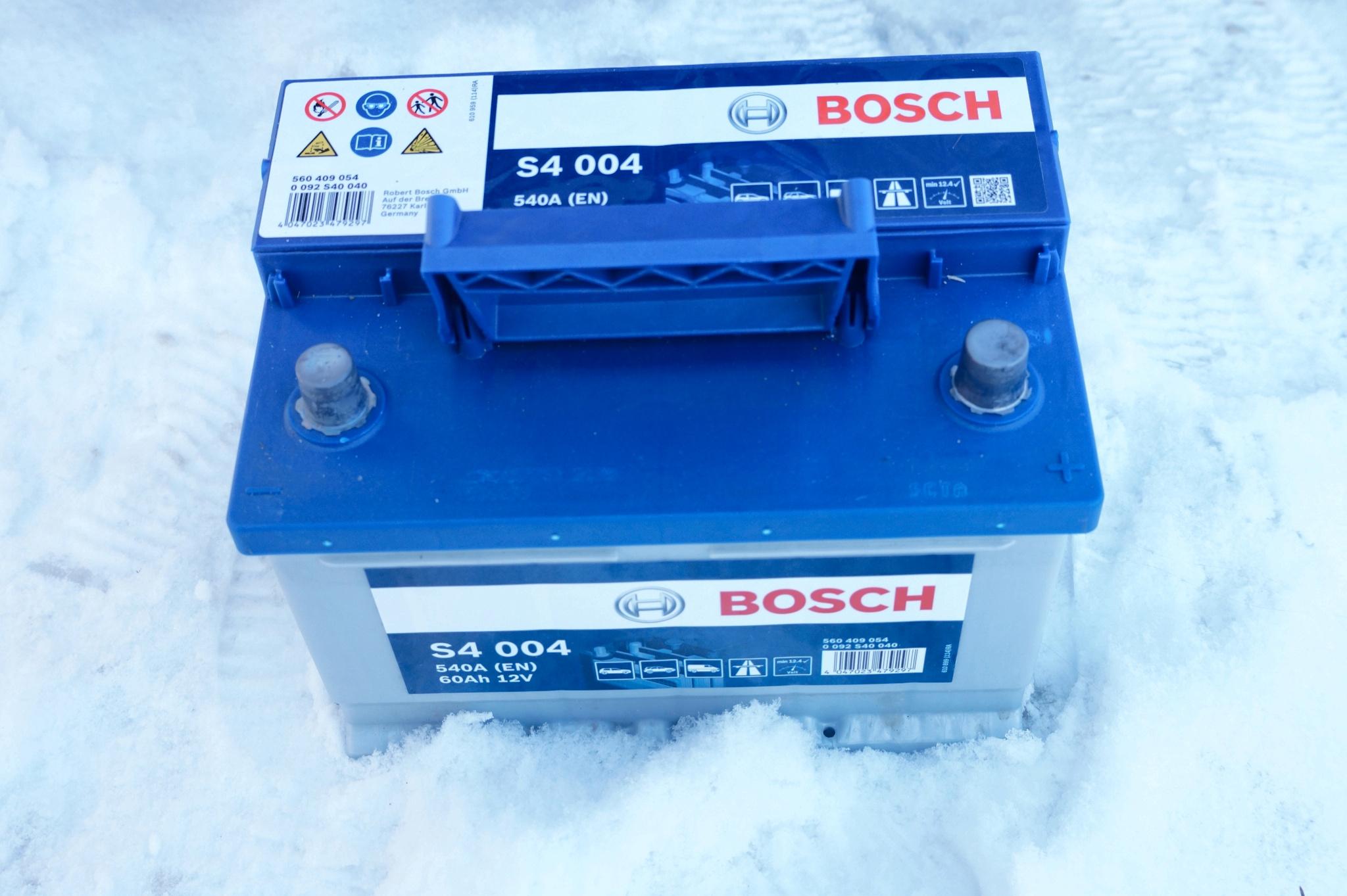 Инструкция аккумулятора bosch s4 silver