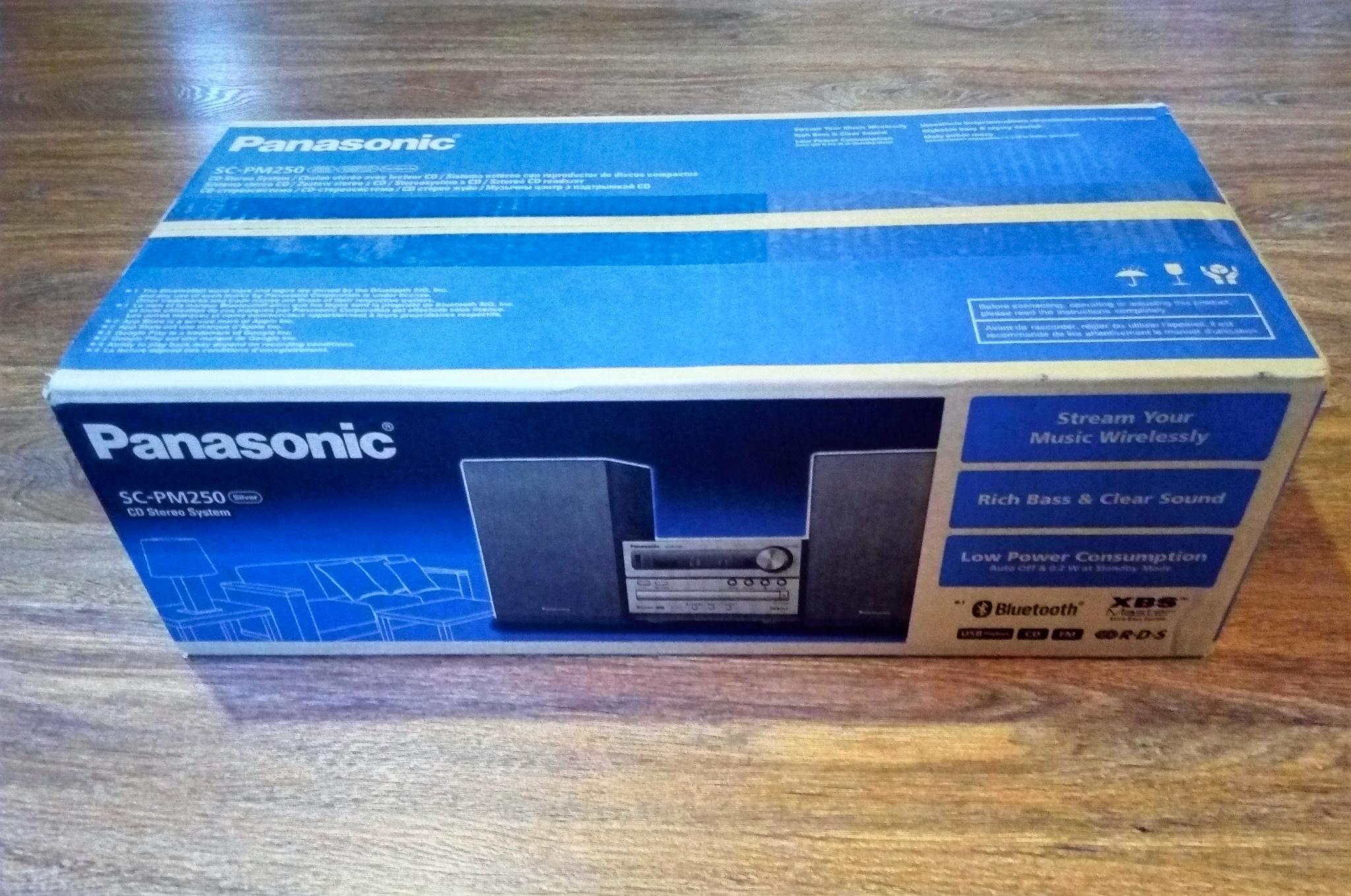 f91e89a5208d Обзор от покупателя на Микросистема Panasonic SC-PM250EE-S ...