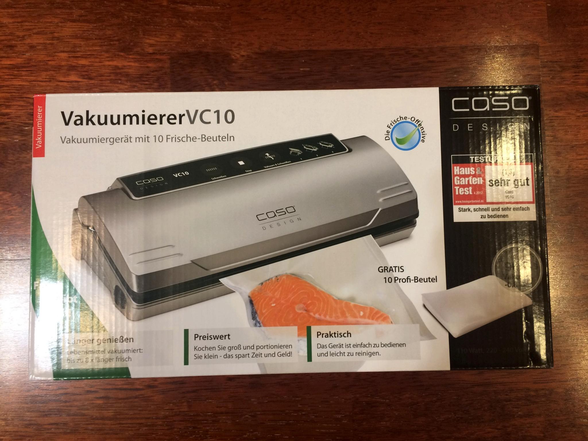 Вакуумный упаковщик caso vc 10 видео обзор техника дома отзывы об интернет магазине